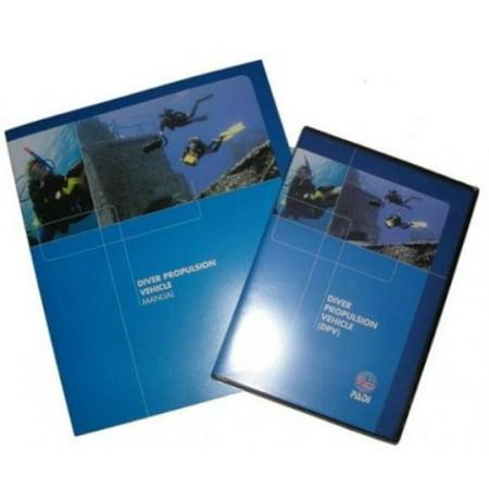 Diver Propulsion Vehicle (DPV) Crew-Pak Training Materials for Scuba, Diver propulsion vehicle dive planning organization, procedures, techniques, problems.., By - Scuba Padi Certification
