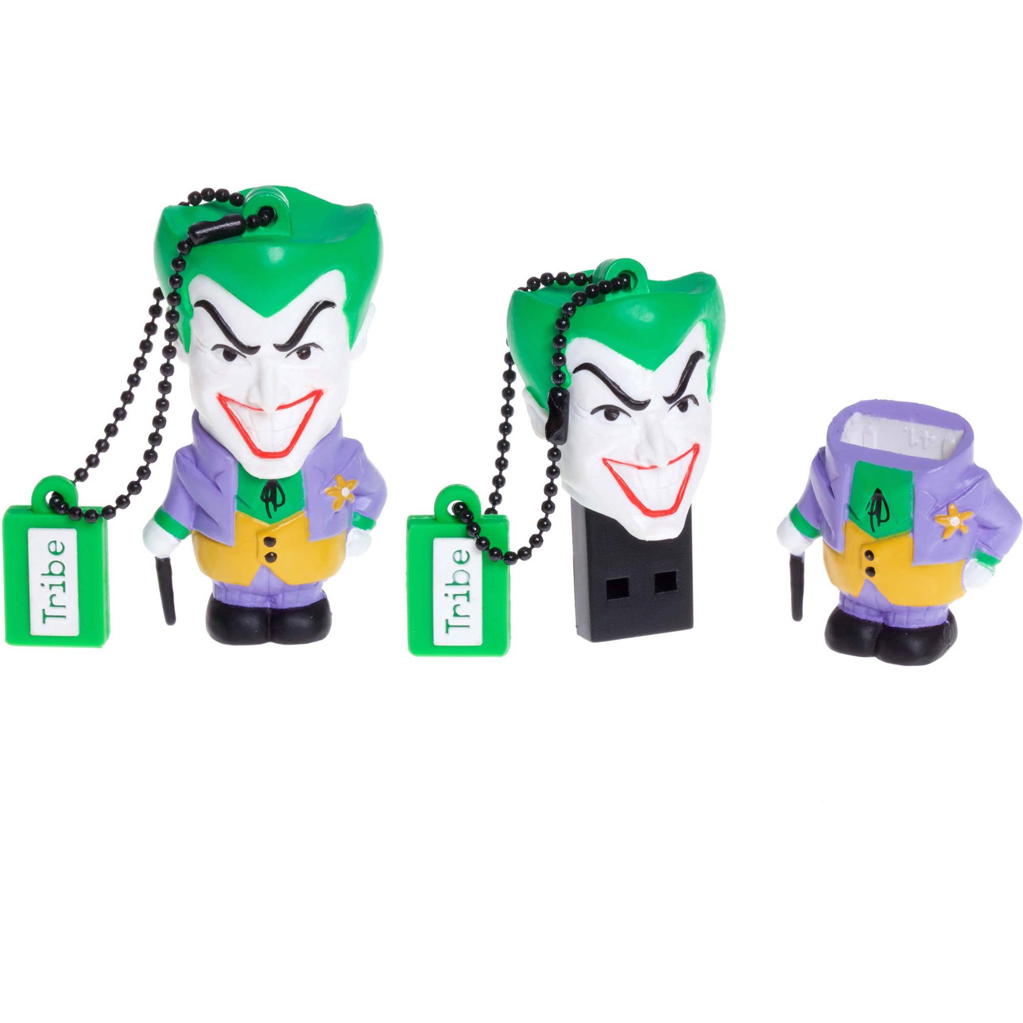 Tribe USB Flash Drive 16GB DC Joker Classic Collectible Figure