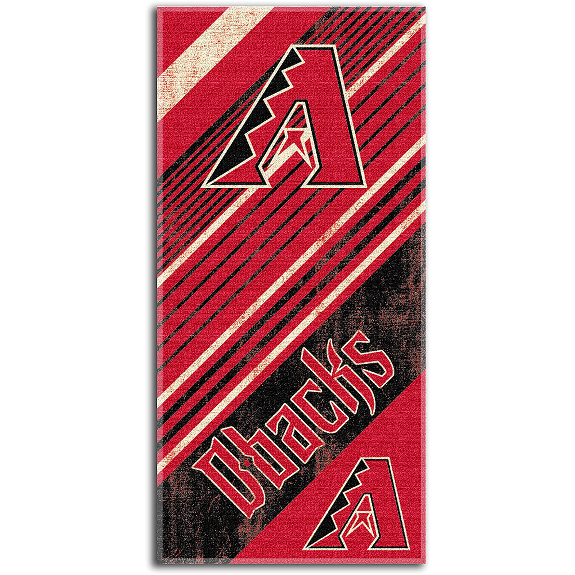 MLB Beach Towel Diagonal Series, Arizona Diamondbacks