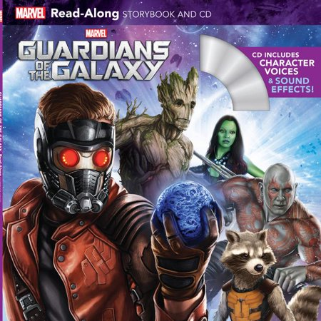 Guardians of the Galaxy Read-Along Storybook and CD - Storybook Character Ideas