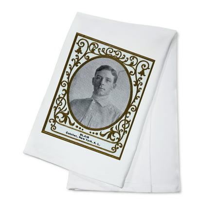 New York Highlanders - Walter Blair - Baseball Card (100% Cotton Kitchen Towel)