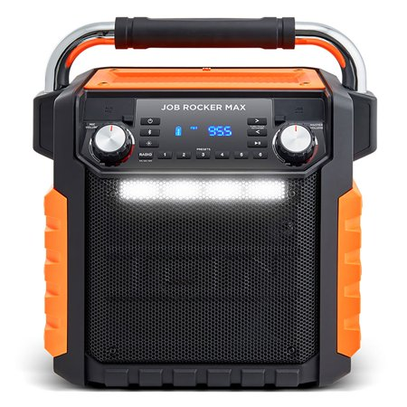 ION Audio iPA 81OR Wireless Bluetooth All Weather Rugged Job Rocker Max  Speaker