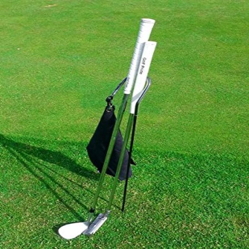 Putter Buddy Golf Club Holder with Microfiber Towel (black)