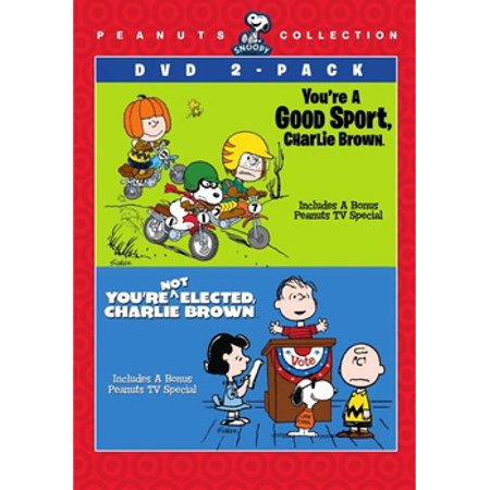 Peanuts: You're A Good Sport Charlie Brown / You're Not Elected (DVD)](Peanut Charlie Brown)
