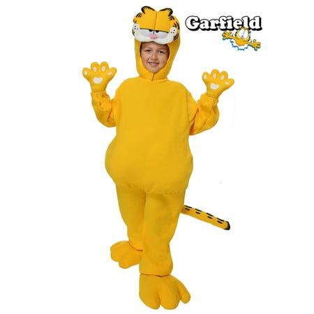 Garfield Halloween English (Child Garfield Costume)