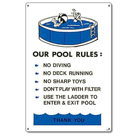 Regulation Pool - Poolmaster Above Ground