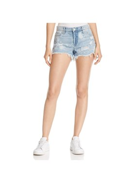 562a330f4c Product Image Blank NYC Womens Hiker Distressed Cutoff Denim Shorts
