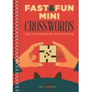 Fast & Fun Mini Crosswords : Tiny Crosswords for Quick Solving