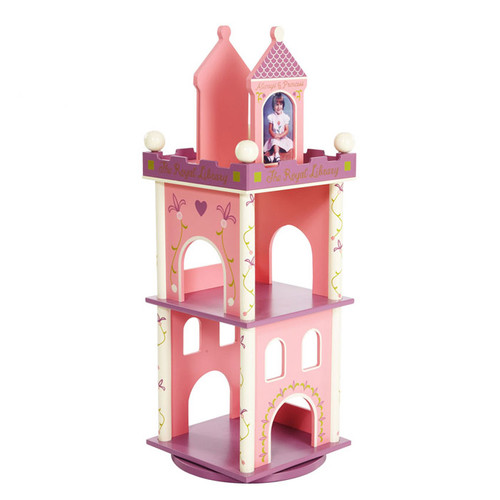 Levels of Discovery Princess Revolving 37'' Bookcase