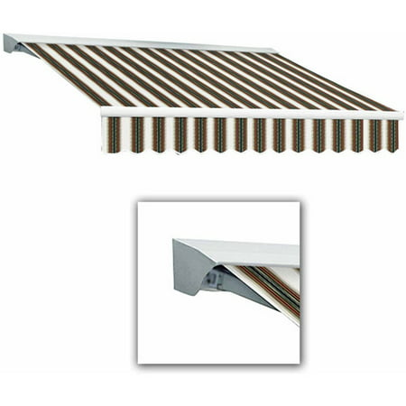 Destin-LX with Hood Manual Retractable Awning, 16 ft.W x 10 ft. Proj