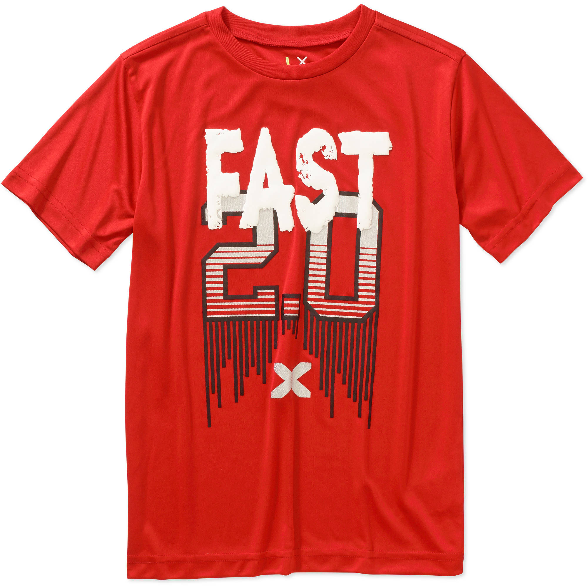 "Boys' ""Fast 2.0"" Graphic Active Tee"