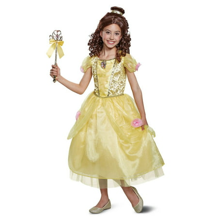 Beauty & the Beast Belle Deluxe Toddler (Deluxe Yellow M & M's Costumes)