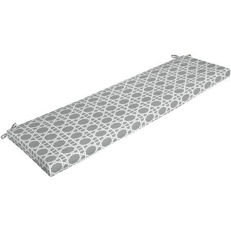 Beige Cushions Outdoor Aluminum Patio - Mainstays Outdoor Patio Bench Cushion, 17