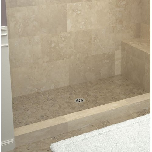 Tile Redi Single Threshold Shower Base with Bench