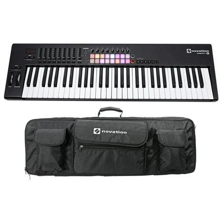 novation launchkey 61 mk2 mk11 61 key usb midi controller keyboard carry case. Black Bedroom Furniture Sets. Home Design Ideas