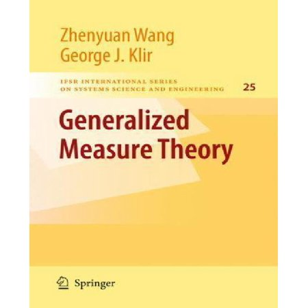 Generalized Measure Theory - image 1 of 1