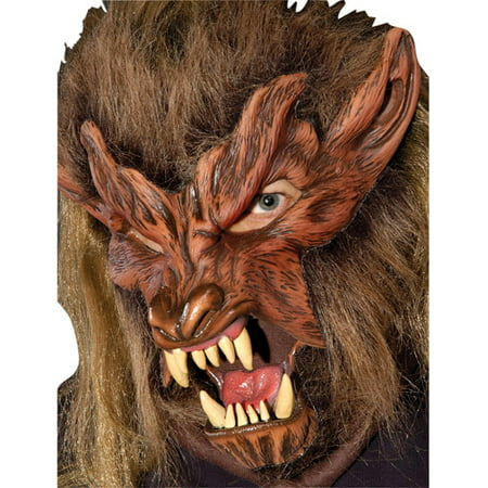 Lone Wolf Halloween Adult Latex - Latex Scary Masks