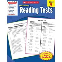Scholastic Success with Workbooks: Tests Reading: Reading Tests, Grade 5 (Paperback)
