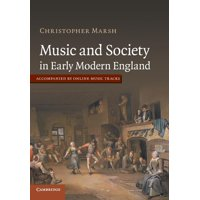 Music and Society in Early Modern England (Paperback)