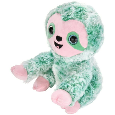 Spark. Create. Imagine. Bright Eye Green Sloth Plush, 9""