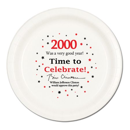 Partypro TQP-2282 2000 - Birthday Dinner Plate