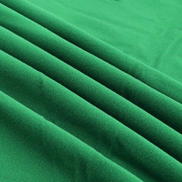 Billiard Cloth Pool Table Felt for 7/8 Foot Table Green, Red or