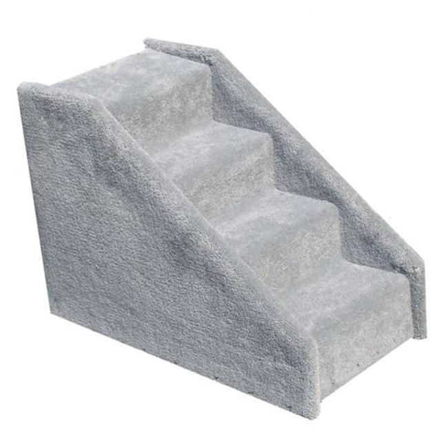 Essential Pet Products TINY4GR Tiny 4 Step Pet Stairs - Grey