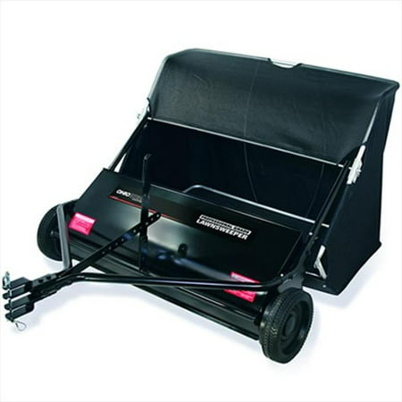 "Ohio Steel 42LS Ohio Steel 42LS 42"" 18 Cubic Foot Tow-Behind Lawn Sweeper, Lawn Sweeper"