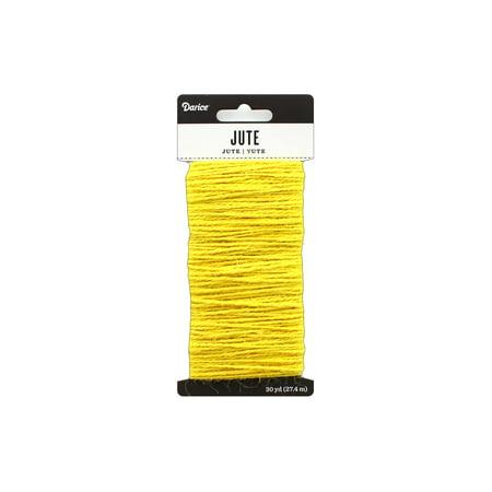 Darice Jute Yellow 30yd