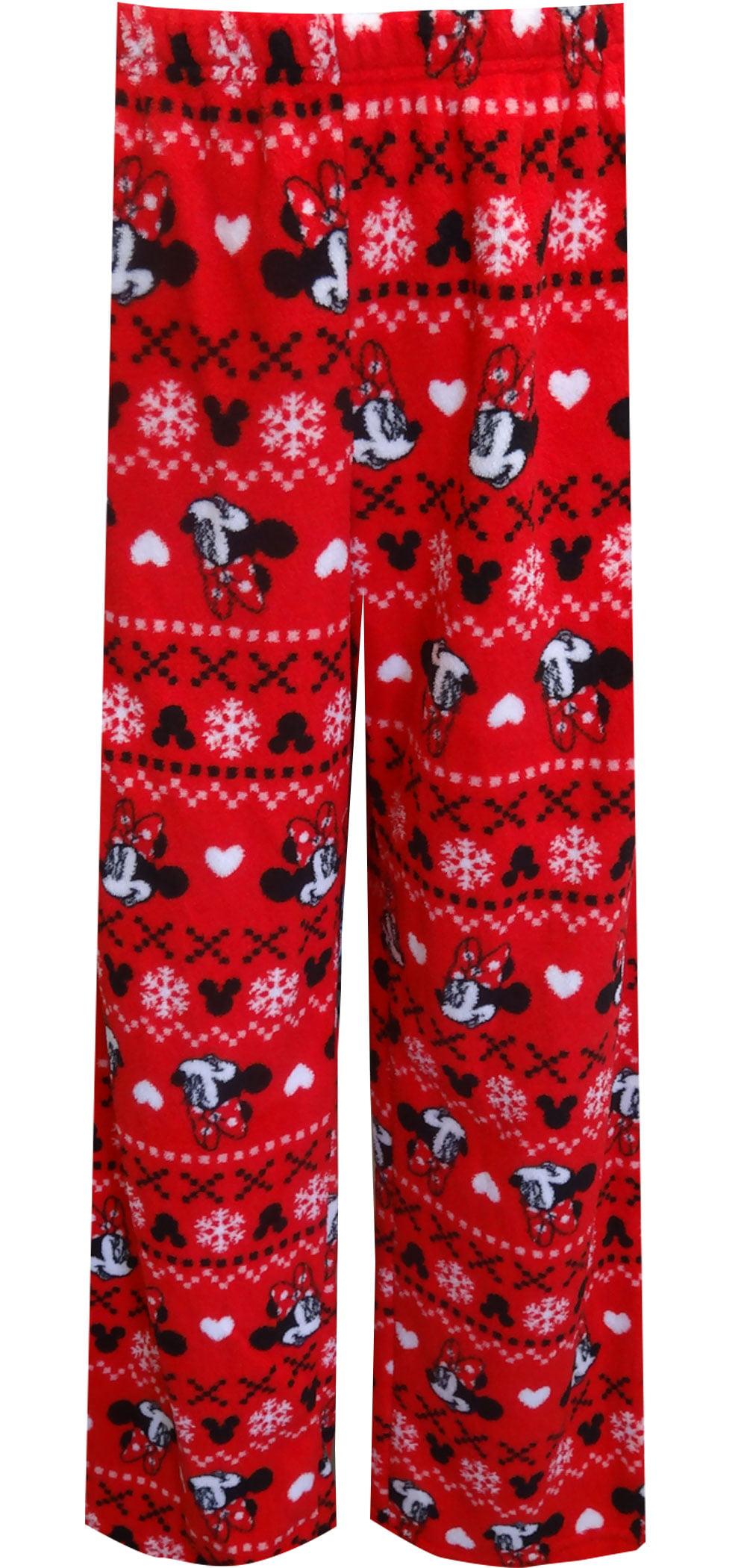 Disney's Minnie Mouse Red Plush Plus Size Loungepant
