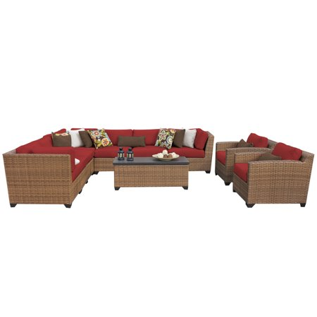 tuscan 10 piece outdoor wicker patio furniture set 10a
