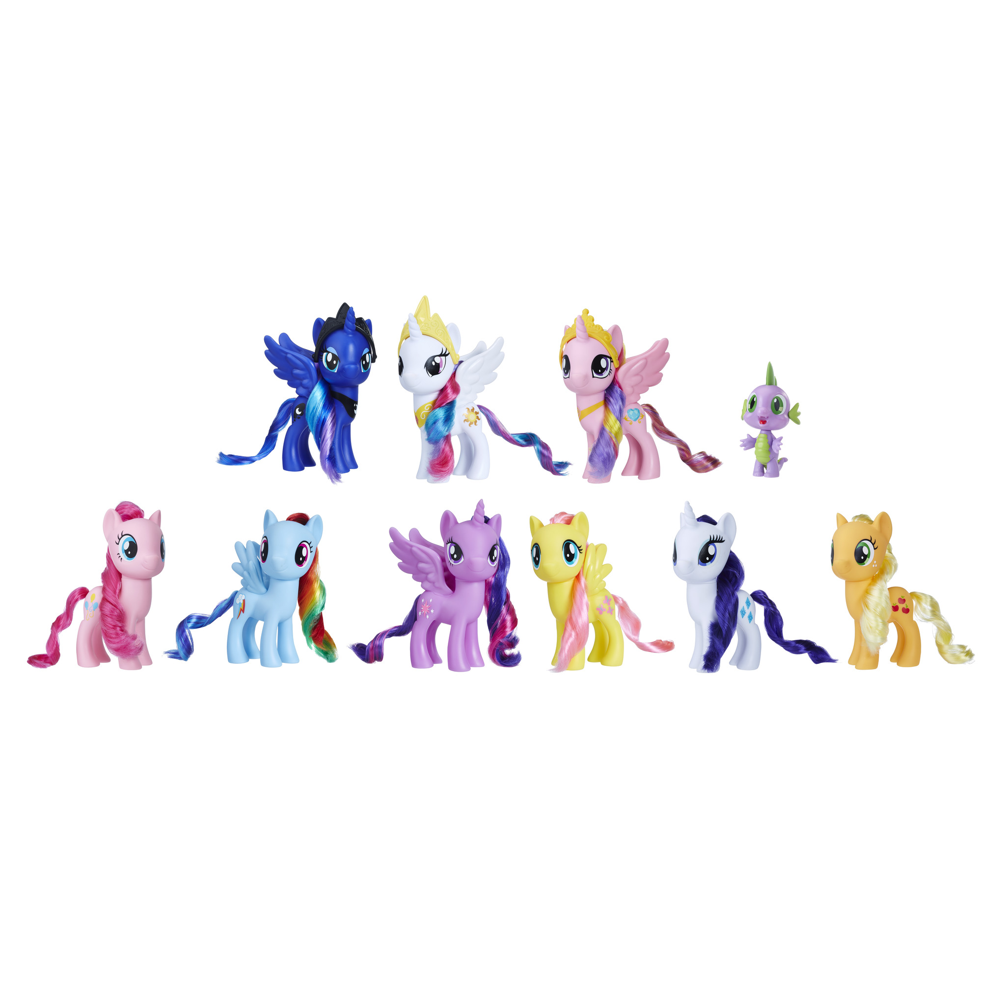 My Little Pony Friendship is Magic Toys Ultimate Equestria Collection � 10 Figure Set... by Hasbro
