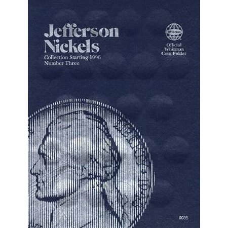 - Official Whitman Coin Folder: Coin Folders Nickels: Jefferson 1996 (Other)