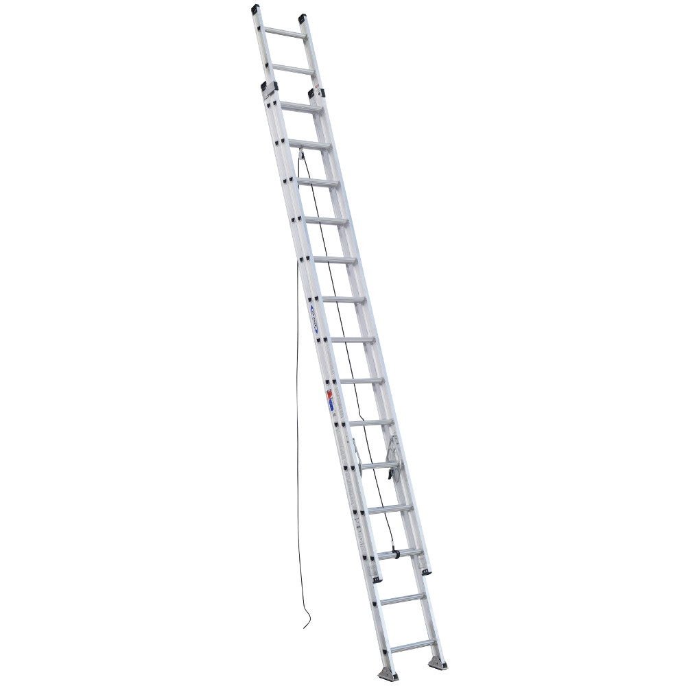 Werner D1528-2 28 ft. Type IA Aluminum D-Rung Extension Ladder by Werner
