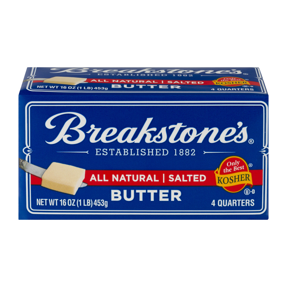 Breakstone's Butter Salted - 4 CT