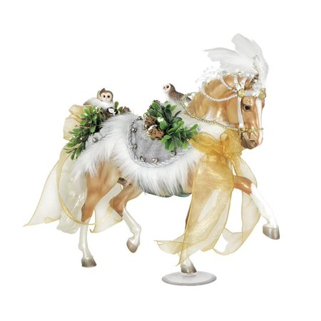 Breyer Traditional Series 2017 Winter Wonderland Holiday Horse Model Horse - Breyer Halloween Series
