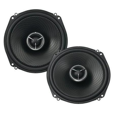 Custom Fit Car Speakers - Kenwood Excelon KFC-X183C 7 Inch 2 Way Pair Of Oversized Custom Fit Car Speakers Totalling 560 Watts Peak / 160 Watts RMS