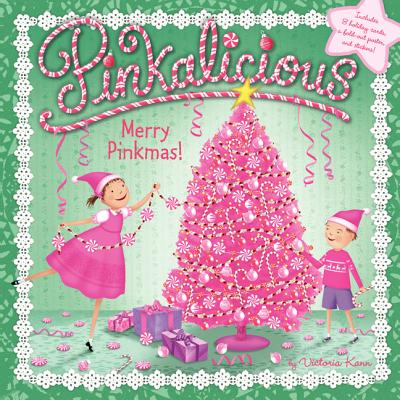 Merry Pinkmas! [With 8 Holiday Cards and Poster] (Paperback)