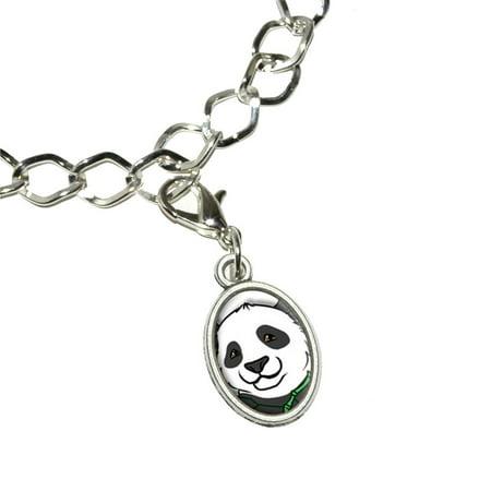 Panda Bear Oval Charm ()