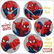 Spider-Man Mini Dot Stickers - Birthday Party Favors - 450 per Pack