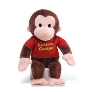 "GUND 12"" Red Shirt Curious George Plush Doll"