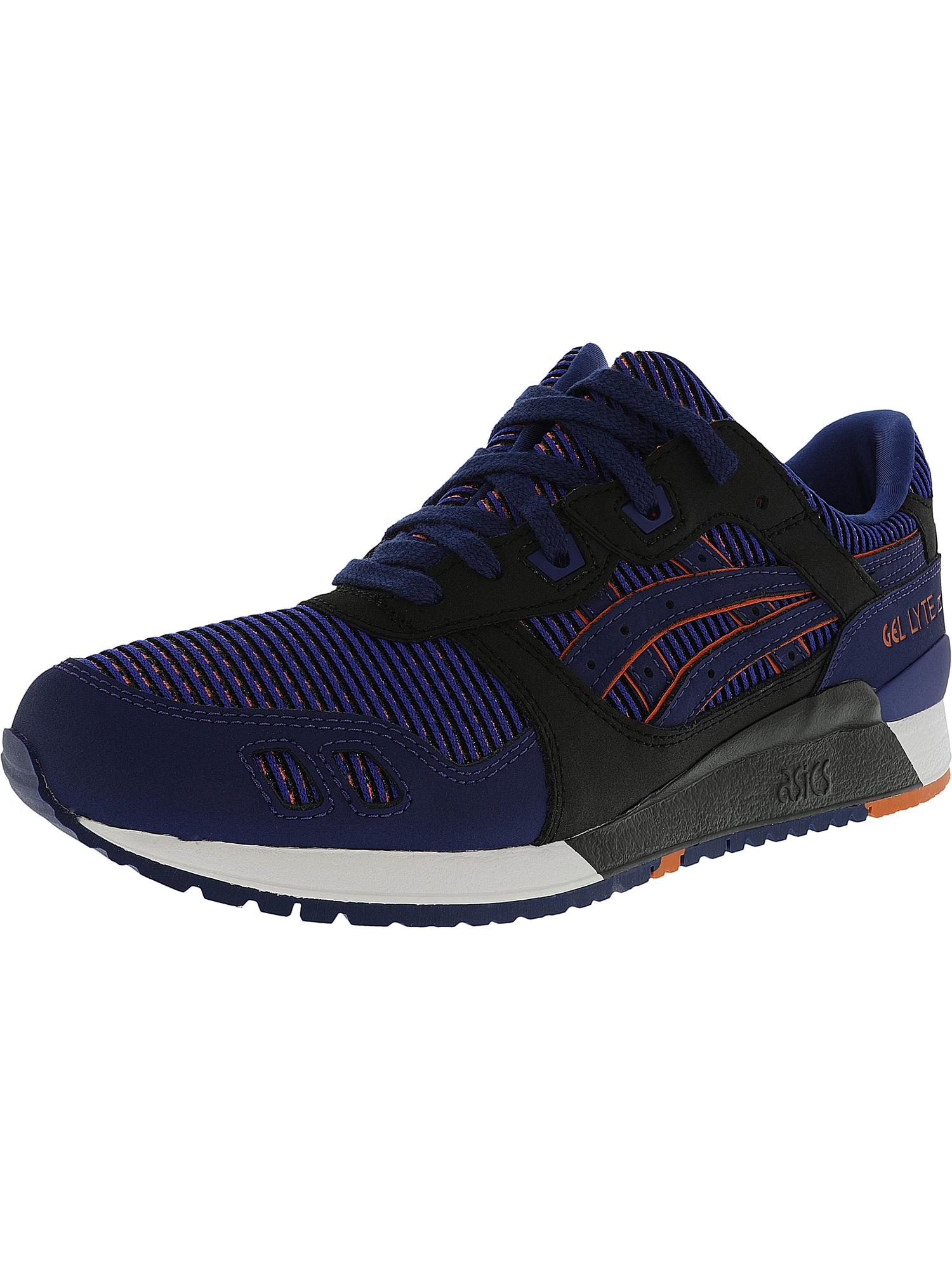 Asics Men's Gel-Lyte 3 Medium Grey / Guava Ankle-High Leather Fashion Sneaker - 11.5M
