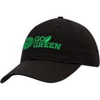 San Francisco 49ers Go Green Adjustable Hat - Black - No Size