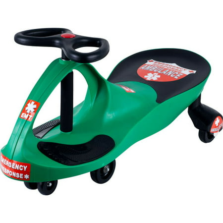Ride on Toy, Ambulance Car Ride on Wiggle Car by Lil Rider Ride on Toys for Boys and Girls, 2 Year Old And Up