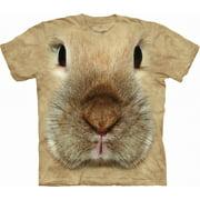 Bunny Face Adult T-Shirt - 10-3446
