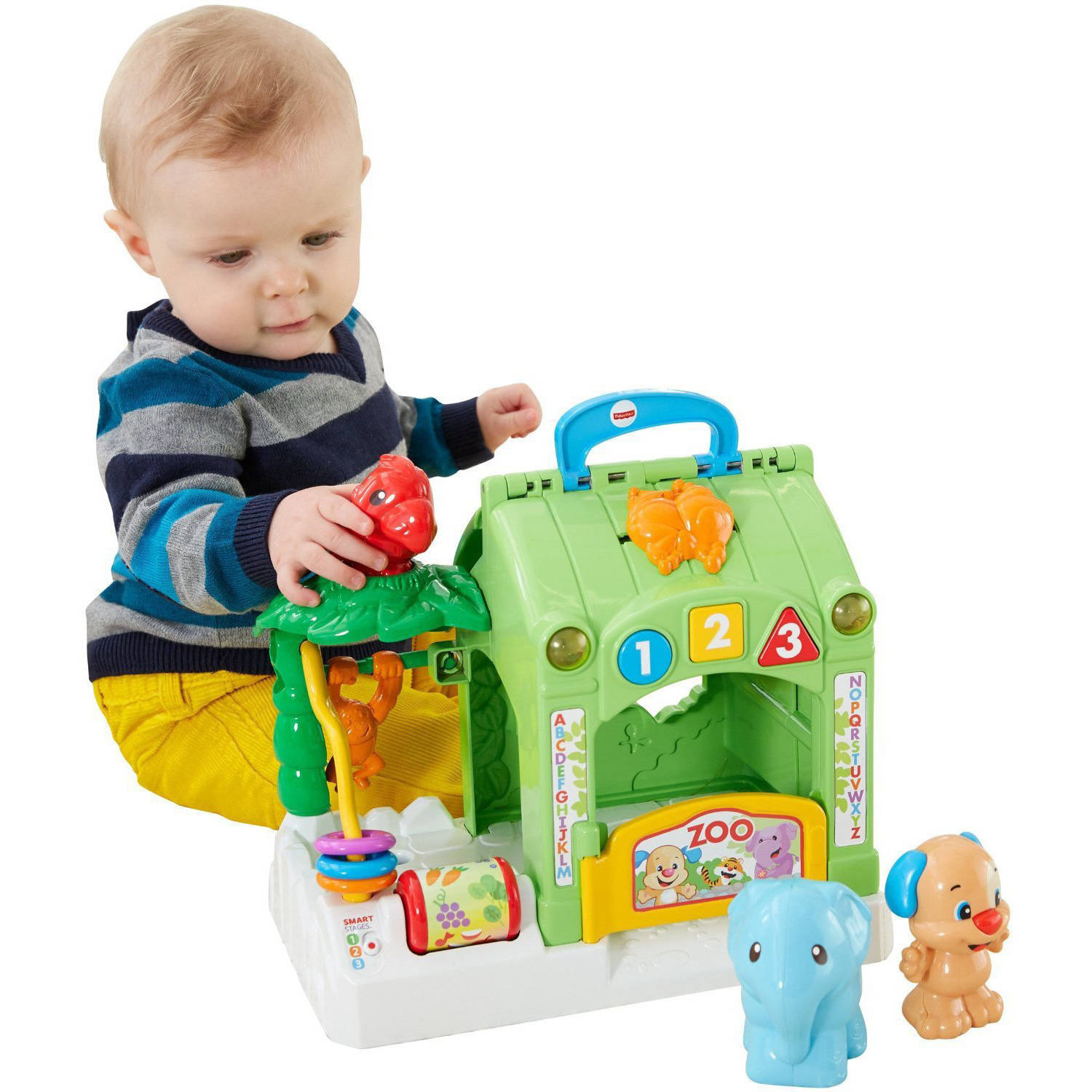 Fisher Price Laugh & Learn Smart Stages Activity Zoo Walmart