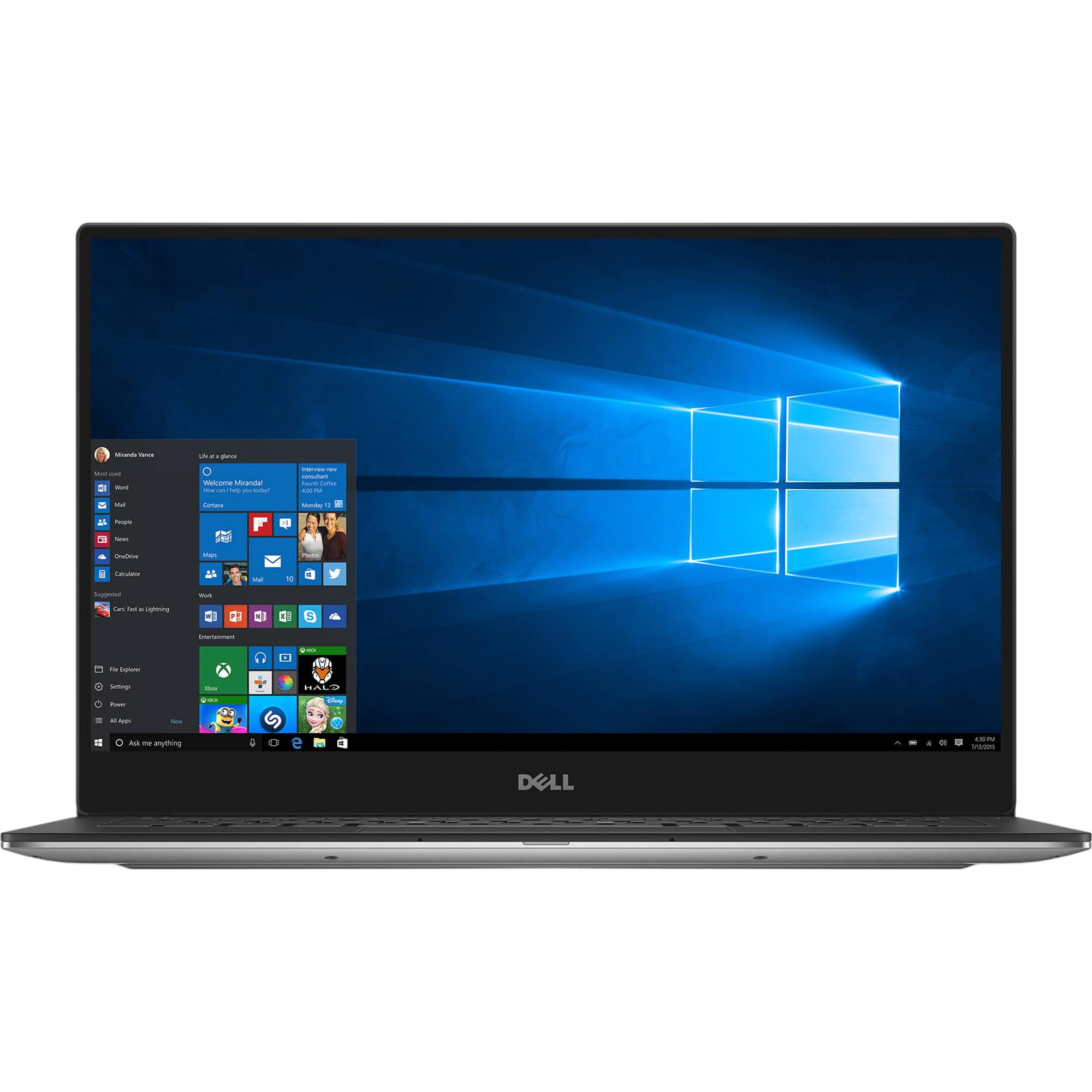 Refurbished Dell XPS 13 9360 i7-7500U 8GB 256GB PCIe SSD QHD+ Touch INFINITY Rose Gold W10PR