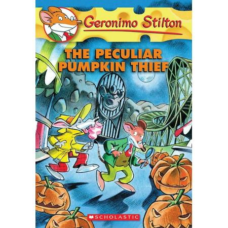 Geronimo Stilton: The Peculiar Pumpkin Thief (Paperback)