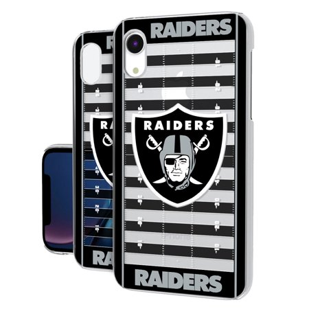 Oakland Athletics Case (Oakland Raiders iPhone Clear Field Design Case )