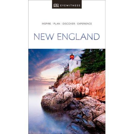 DK Eyewitness Travel Guide New England ()
